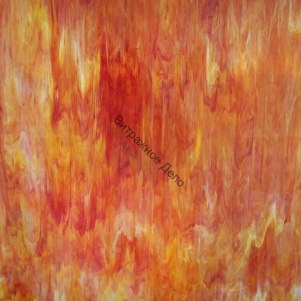 Лист стекла HUNAN K15-175 RED  \ HUSH Opal